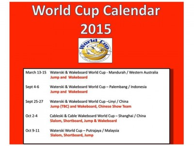 IWWF WORLD CUPスケジュール